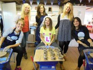 Eastnor Pottery – Hen Parties