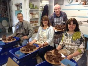 Eastnor Pottery – Team Building