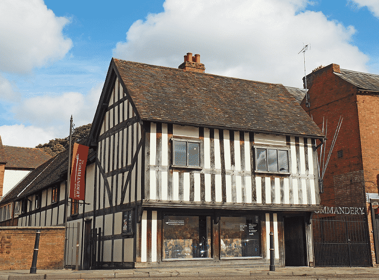 The Commandery Worcester - Grade I listed building