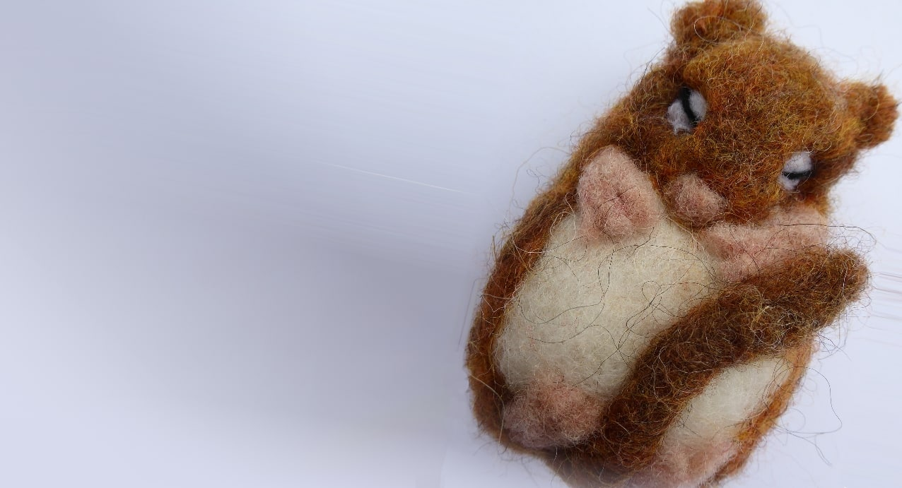Doormouse Needle Felting Workshop