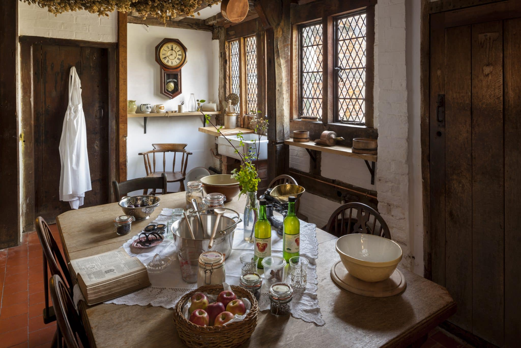 The Kitchen. Interior views of Brockhampton Estate