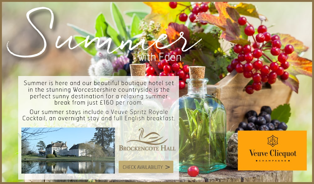 Brockencote Hall Summer Offers