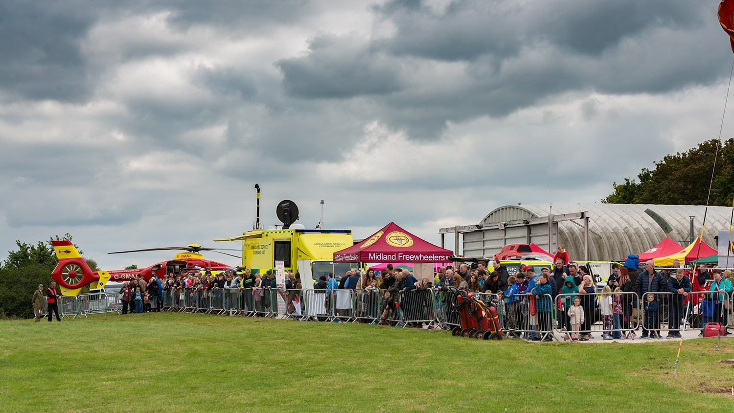 MAAC open Day Crowds