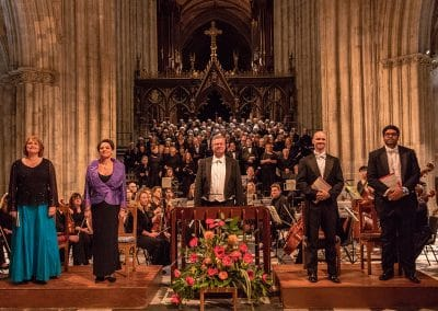 Worcester Festival Choral Society in concert – Poulenc & Vaughan Williams at Worcester Cathedral