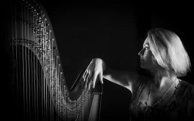 French music for harp and ensemble