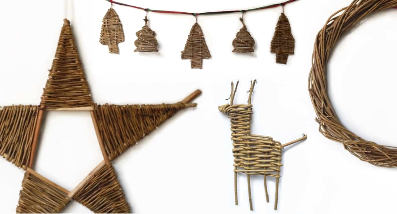 Willow Christmas Decorations Workshop