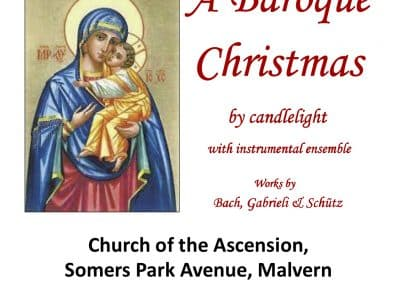 A Baroque Christmas by Candlelight with the Elgar Chorale