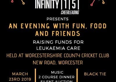 Infinity 1-5 presents a black tie event with fun, food and friends