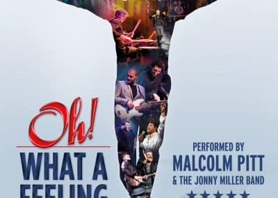 Oh! What A Feeling – Celebrating the music of Lionel Richie & The Commodores