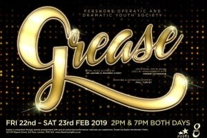Grease the musical presented by PODYS