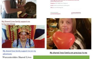 Shared lives Worcestershire