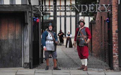 Experience Worcester in 1600