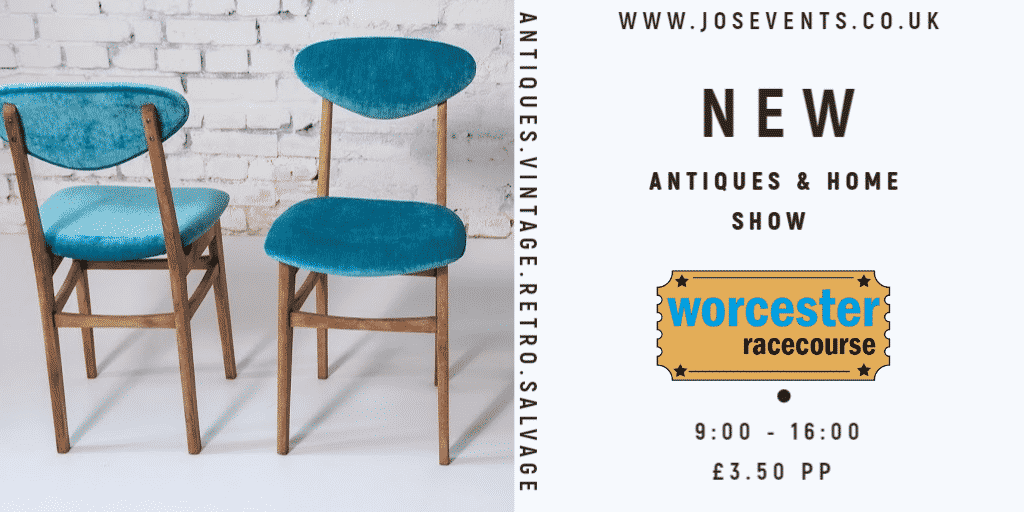 **NEW ** Worcester Racecourse – Antiques & Home Show